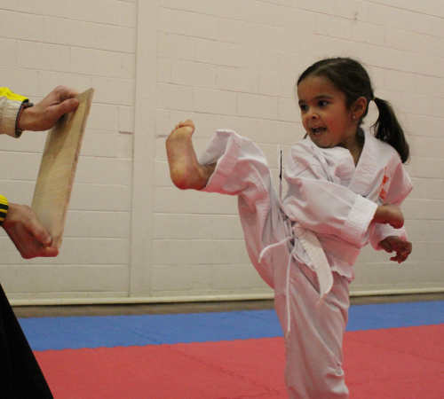 we offer training for kids as young as 4